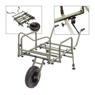 STARBAITS Folding Carp Barrow With Sides Pneumatic Wheel-Carp Fishing • 125£
