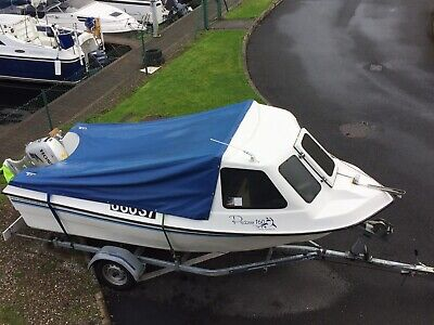 Predator 160 With Honda 50hp Engine And Braked Roller Trailer • 8,500£
