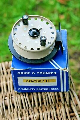 Grice And Young's 'Century II' Centrepin Reel • 12.03£