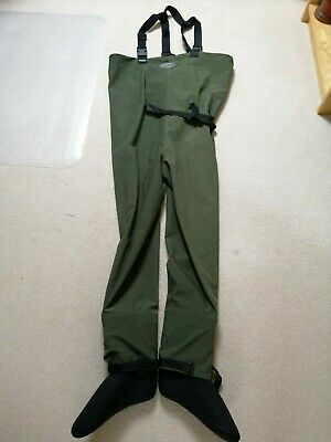 Greys G Series MK Chest Waders And Felt Soled Shoes Size 10. • 10.50£