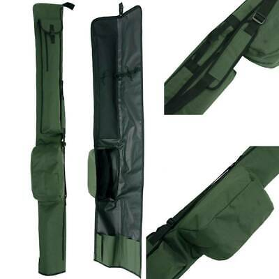 2 + 2 Ngt Rod And Reel Holdall Bag Carp Coarse Fishing Tackle Made Up Rods • 19.95£