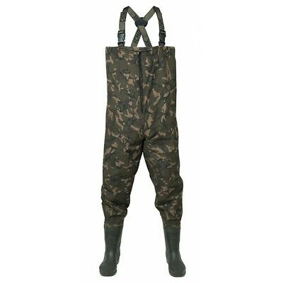 Fox Chunk NEW Lightweight Camo Waders **ALL SIZES - NEW 2020 MODEL** • 69.50£