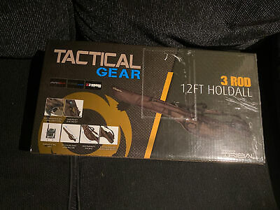 Shimano Tactical Gear 3 Rod 12FT Hold-all BRAND NEW IN BOX!!! • 31.01£