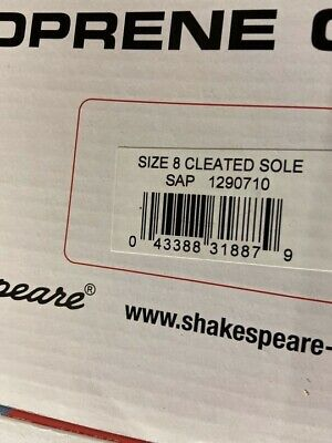 Shakespeare Neoprene Chest Waders Size 8 Cleated Sole BRAND NEW • 42£