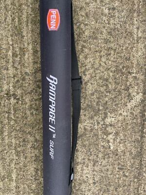 Penn Rampage 2 Sea Fishing Surf Rod 15 Ft 175g To 225g Plus Protective Tube • 83£