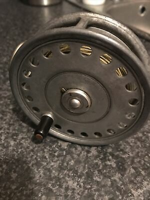 Vintage Rare Hardy St George 3 3/4  Fly Fishing Reel With Line Great Condition • 6.50£