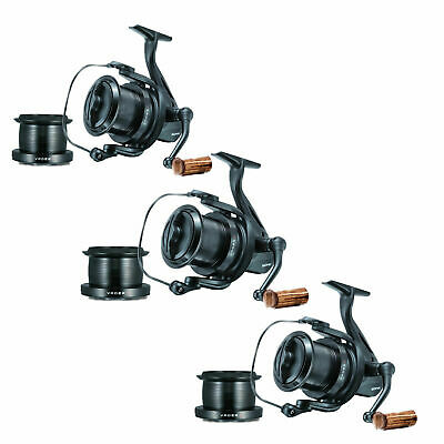 3 X Sonik Vader X 8000 RS  Big Pit Carp Reels NEW Supplied With Spare Spools • 139.25£