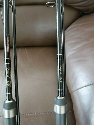 Carp Fishing Rods (x2), Reels (x2) And Rod Bag - Hardly Used • 89.99£