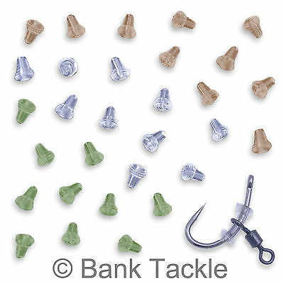Hook Stops Carp Fishing Terminal Tackle 4 Colours Available Rubber Shank Beads • 4.89£