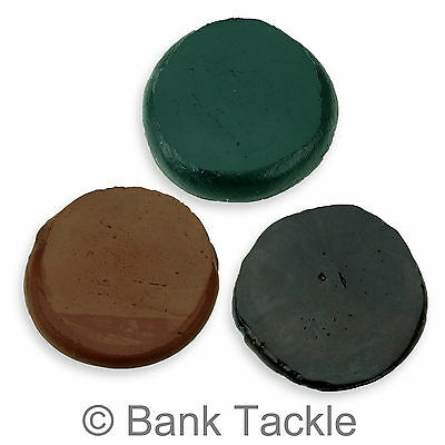 Tungsten Rig Putty 20g Green, Brown Or Black Carp Fishing Terminal Tackle (JT) • 5.49£