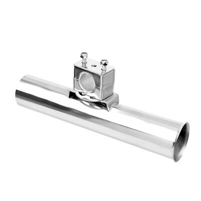 Silver Outrigger Gear Fishing   Rod Holder Holders-Boat Kayak Yacht Rail • 17.48£