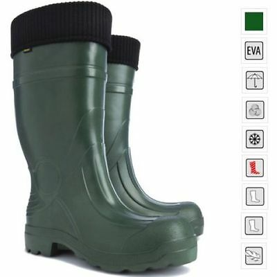 Thermal LIGHTWEIGHT EVA Wellies Wellingtons Boots -35C Hunting Voyager Forest UK • 25.99£