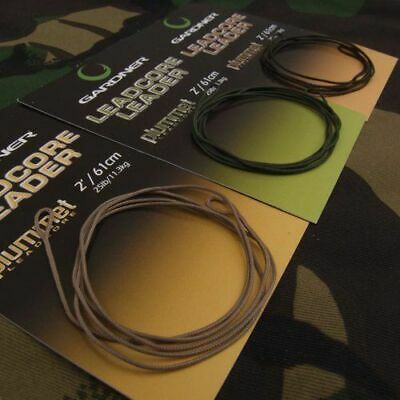 Gardner Tackle Ready Tied Leaders - Carp Barbel Rudd Catfish Coarse Fishing Line • 2.49£