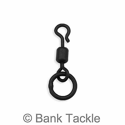 QC Ring Swivels Size 11 Quick Change Flexi Rings For Ronnie Rigs Carp Tackle SQC • 2.79£