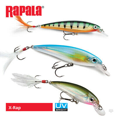 Rapala X-Rap Lures - Pike Perch Zander Bass Salmon Sea Trout Fishing Tackle • 11.99£