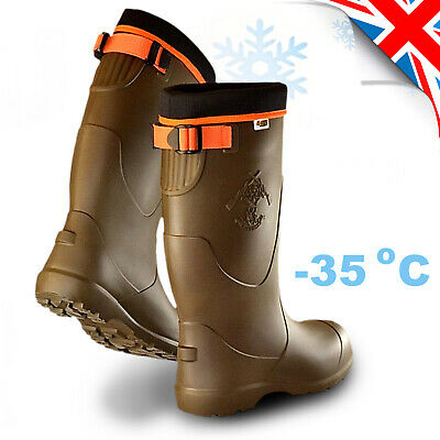 Thermal TRC LIGHTWEIGHT EVA Wellies Wellingtons Boots -35C Hunting Forest • 36.99£
