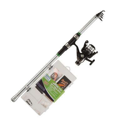 Shakespeare Catch More Fish 2 Telescopic Spin Combo 8' 20-60g • 36.90£