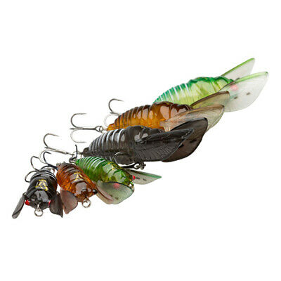 Savage Gear 3D Cicada Surface Lures - Perch Chub Trout Bass Fishing Tackle • 7.99£
