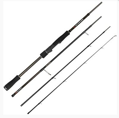 Savage Gear Hitch Hiker 4 Piece Travel Spinning Rods ****SALE**** • 96.99£