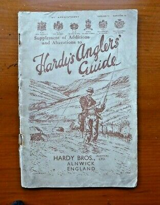 Vintage Hardy's Anglers Guide & Catalogue 1938 • 19.95£