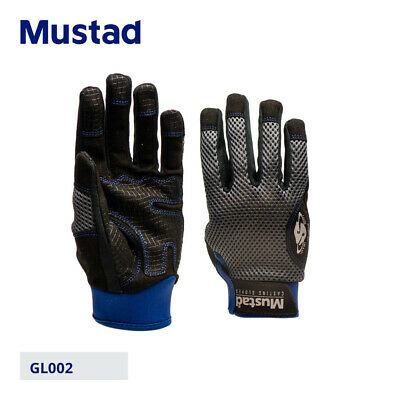 Mustad Landing/Casting Gloves - Carp Pike Coarse Bass GT Sea Lure Fishing Tackle • 15.74£