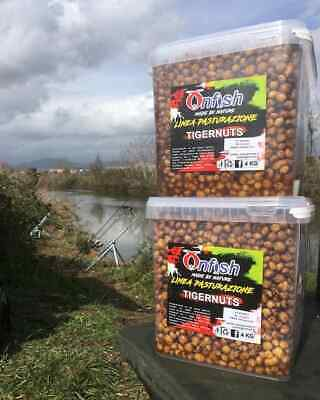 Onfish Grains Cooked Ready To Use Particles Carp Fishing Tiger Nut Hemp Corn • 20.50£