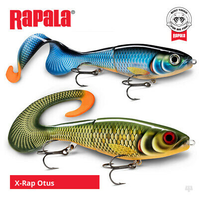 Rapala X-Rap Otus Lures - Pike Muskie Zander Catfish Predator Fishing Tackle • 19.45£