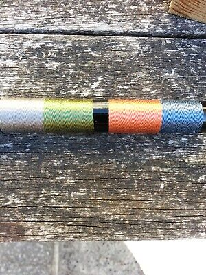 50mtrs.  RAYON  Whipping Thread..various Colours. • 2.70£