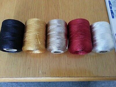50mtrs.  RAYON  Whipping Thread..various Colours. • 3.10£