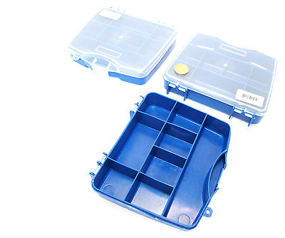 Small Organiser Storage Toolbox 8 Compartment Mini Set Of 3 TB089   • 11.45£