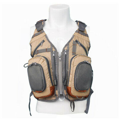 Multifunctional Vest Backpack Gilet For Hunting Fishing Photography Travel • 36.22£