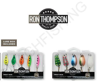 Ron Thompson Trout Spoon Pack*2-4g/5-9g*Trout Perch Lure Nail Spoon  • 8.99£
