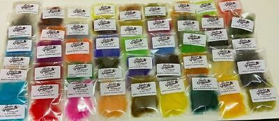 Bag Of Seals Fur Substitute Fly Dubbing - Fly Tying Material - Choice Of Colours • 1.50£