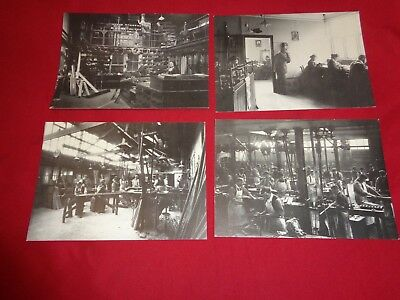 Set Of 8 House Of Hardy Museum Postcards Of Reel Making Etc. • 10£