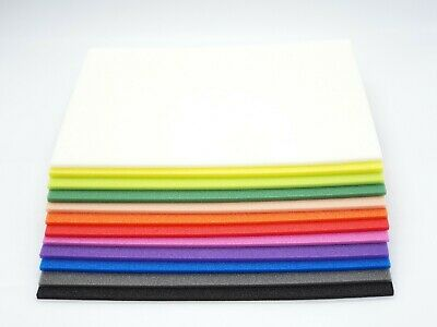 Uphavon Supersoft Foam Sheets - Choice Of Colour - Fly Tying Materials - Craft • 3£