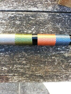 25mtrs.  RAYON  Whipping Thread..various Colours. • 1.99£