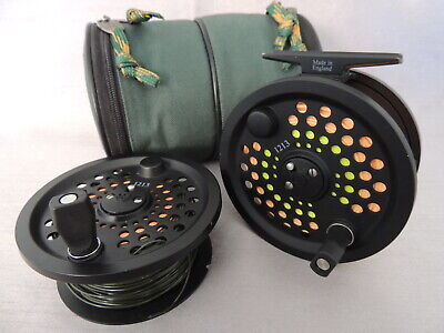 Scientific Anglers System 2 #12/13 Salmon Fly Fishing Reel + Spare Spool & Abu. • 129.99£