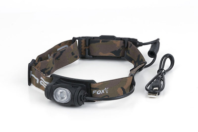 Fox Halo AL350C Carp Fishing Rechargeable Head Torch New • 59.99£