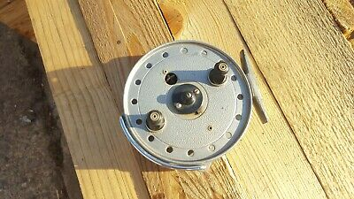 J W Young & Sons Trudex Centrepin Vintage Fishing Reel • 10.50£