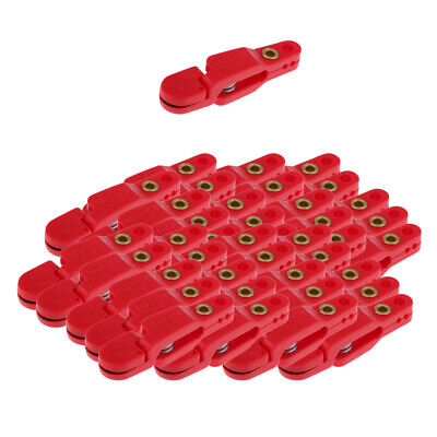 40pc Snap Release Clip For Weight Planer Board Kite Offshore Fishing Downtrigger • 28.94£