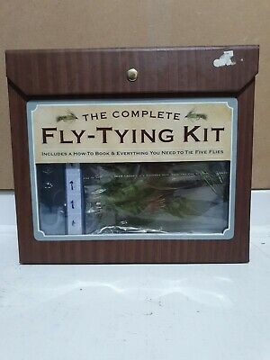 The Complete Fly Fishing Fly Tying Kit - Everything You Need For 5 Flies - NEW • 34.99£