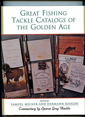 Great Fishing Tackle Catalogues Of The Golden Age By Melner & Kessler 1990 Sback • 27£