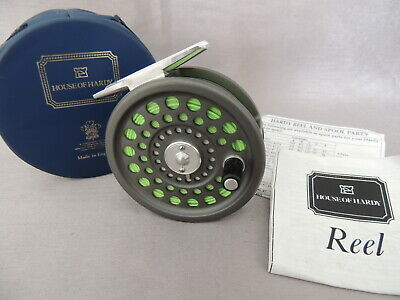 Hardy Marquis #5 Trout Fly Fishing Reel + Makers Case & Paperwork. • 169.99£