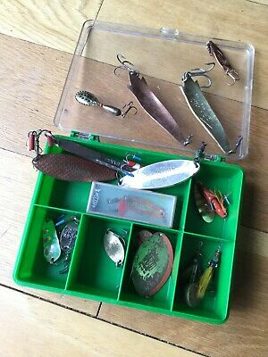Group Of Old Abu Fishing Lures. • 29.99£