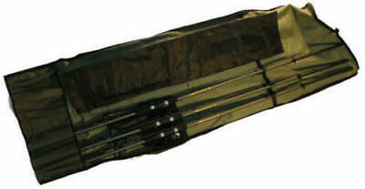 Carp Fishing Rod Holdall For 12ft Rods & Reels Takes 3 Made Up Plus 3 Spare Rods • 19.99£