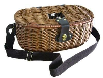 Wicker Willow Fishing Creel Canvas Shoulder Strap • 19.99£