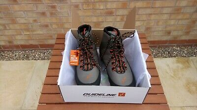 Guideline LAXA Felt Sole Wading Boots, Size 11, New With Box And Tag • 60£