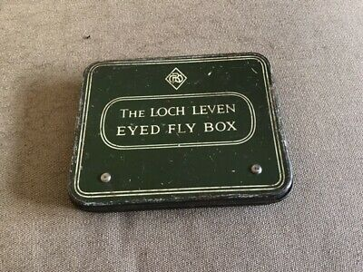 Unusual  'wheatley'   The Loch Leven Eyed Fly Box  • 10£