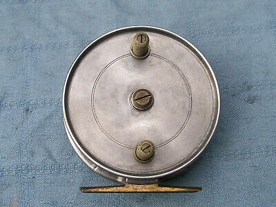 Vintage Fully Functional J.w. Youngs Pattern 9  Centre Pin Trotting Reel  • 10£