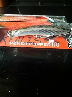 Duo Ultimate Topwater Lure Realis Pencil Popper 110 Mullet • 15.99£